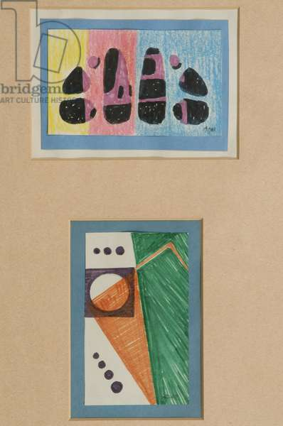 Variations, 1964 (w/c on paper)