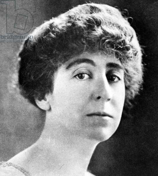 JEANNETTE RANKIN (1880-1973). American suffragist, pacifist, and legislator.