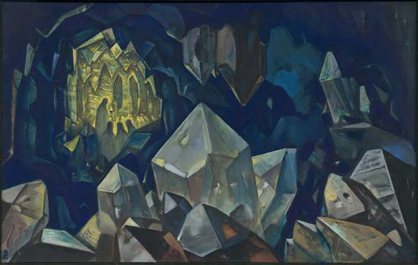 Most Sacred (Treasure of the Mountains), 1933 (tempera on canvas)