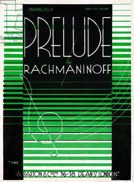 Sergey V Rachmaninoff 's