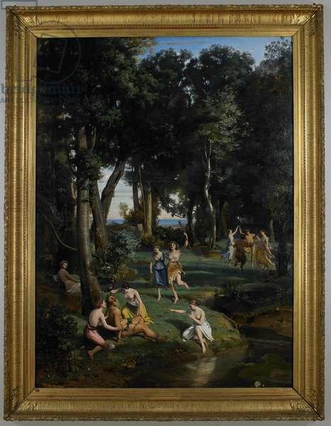 Silenus, 1838 (oil on canvas)