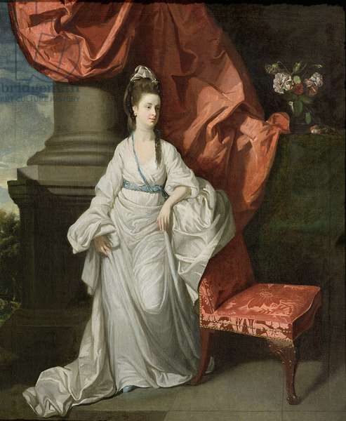 Lady Grant, Wife of Sir James Grant, Bt., 1770-80 (oil on canvas)