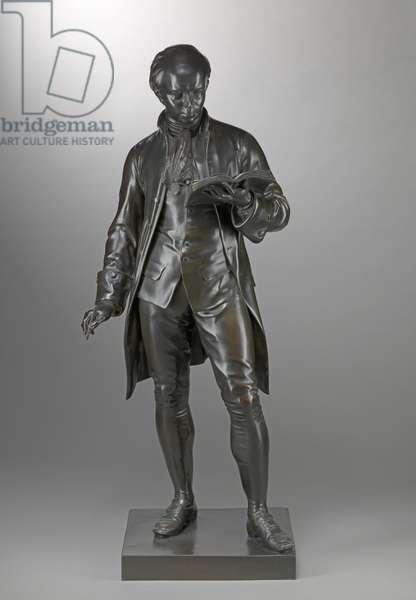 Oliver Goldsmith (1730-74) c.1864-65 (bronze)