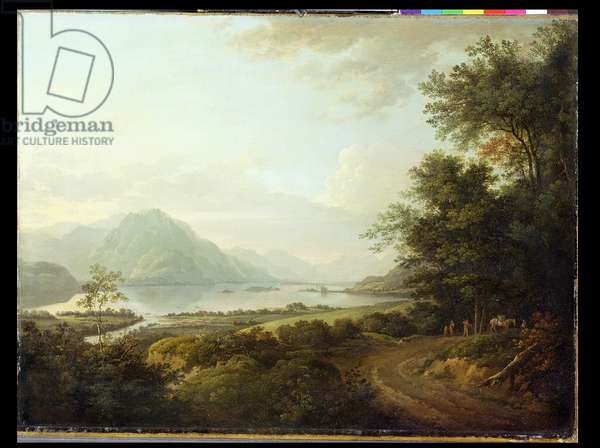 Loch Awe, Argyllshire, c.1780-1800 (oil on canvas)