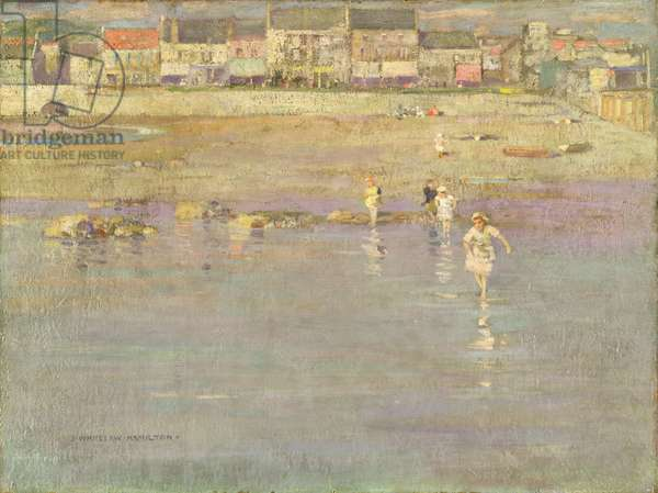 Ebbing Tide, c.1896 (oil on canvas)