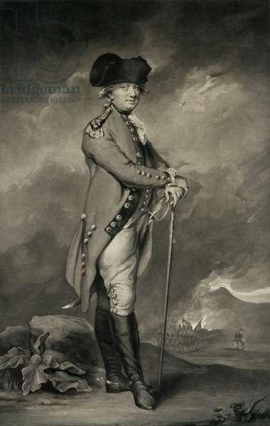General Cornwallis (1738-1805) engraved by John Jones (c.1745-97) 6th March 1793 (mezzotint)
