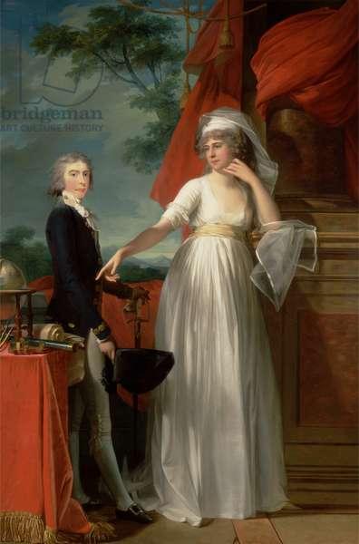 Margaret Callender and her son James Kearney, 1795 (oil on canvas)