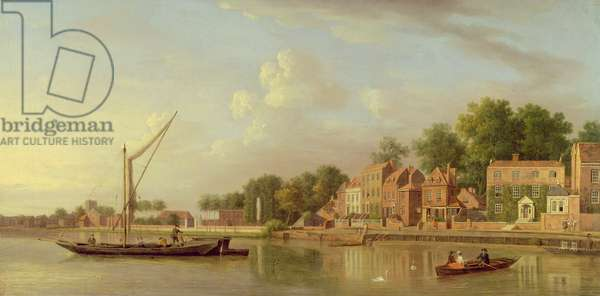 The Thames at Twickenham, c.1760 (oil on canvas)