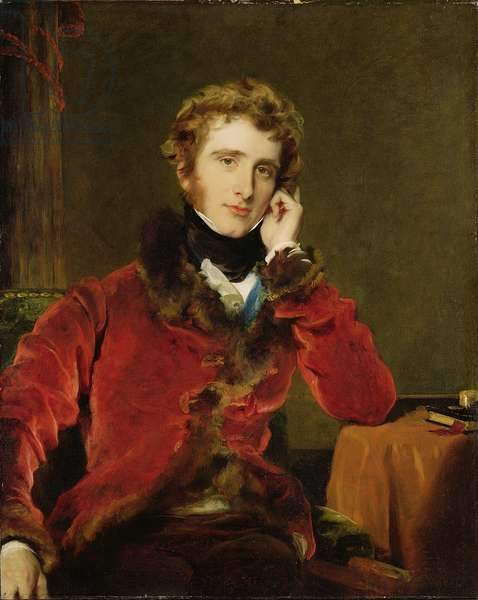 George James Welbore Agar-Ellis, later 1st Lord Dover, c.1823-24 (oil on canvas)