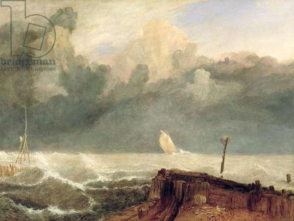 Port Ruysdael (oil on canvas)