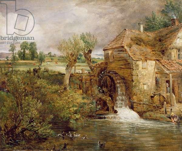 Mill at Gillingham, Dorset, 1825-26 (oil on canvas)