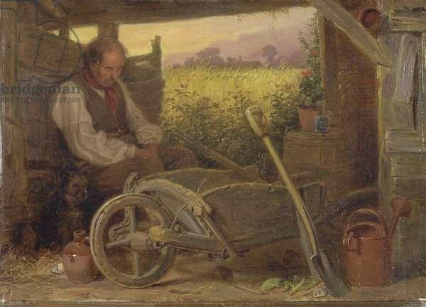 The Old Gardener, 1863 (oil on canvas)