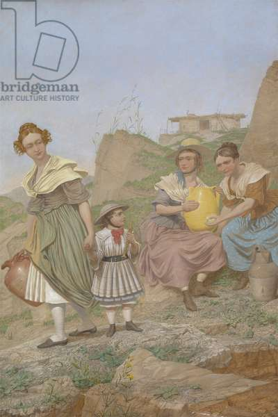 Negation, 1860 (oil on canvas)