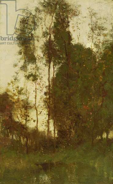 Reve de Crepuscule, c.1890-95 (oil on canvas)