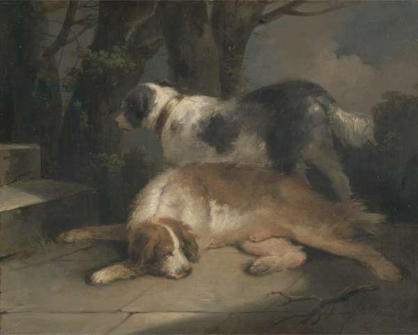 Setters, 1799 (oil on canvas)