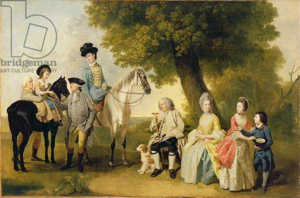 The Drummond Family, c.1769 (oil on canvas)