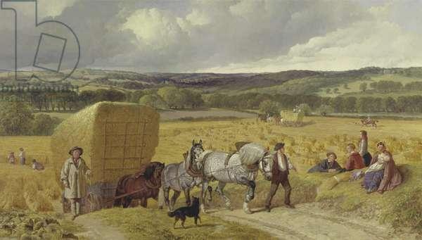 Harvest, 1857 (oil on canvas)