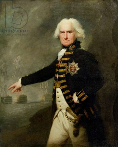 Admiral Lord Bridport (1727-1814) c.1795 (oil on canvas)