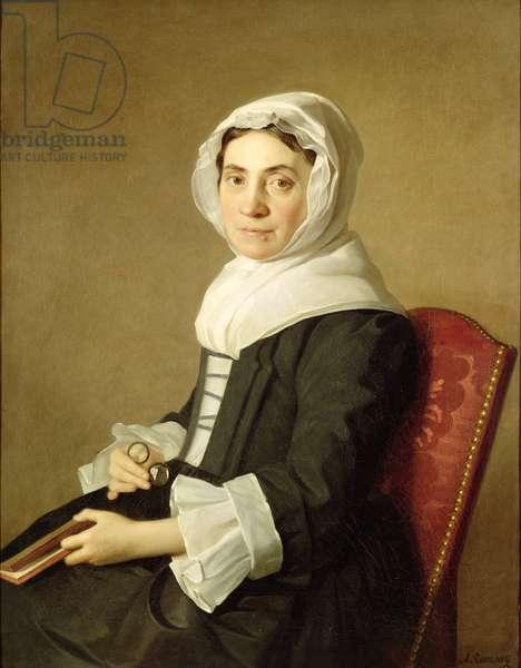 Mary Adam, 1754 (oil on canvas)