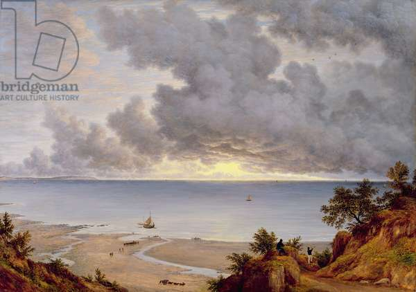 View from Shanklin, Isle of Wight, c.1827 (oil on canvas)