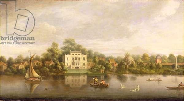 Pope's Villa, Twickenham, c.1765 (oil on canvas)