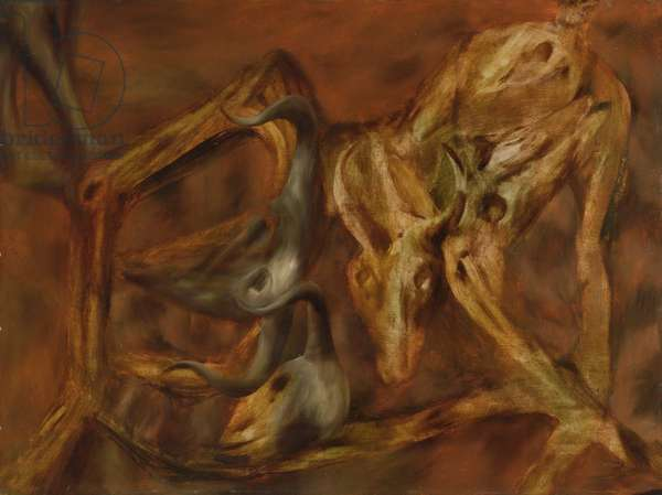 Apotheosis, 1953 (oil on board)