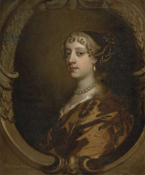Lady Frances Savile, Later Lady Brudenell, c.1668 (oil on canvas)