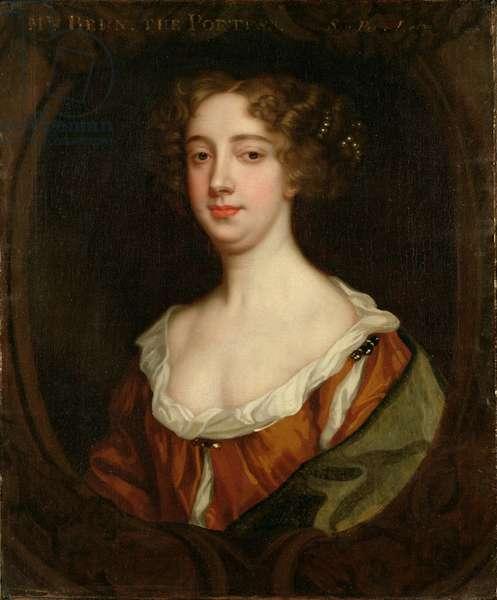 Aphra Behn (1640-89) (oil on canvas)