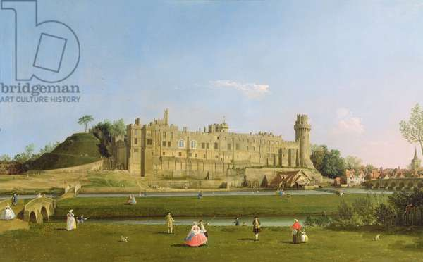 Warwick Castle, c.1748-49 (oil on canvas)