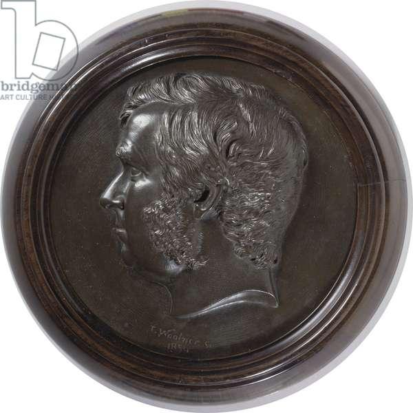 Sir James Martin (1820-86) 1854 (bronze)