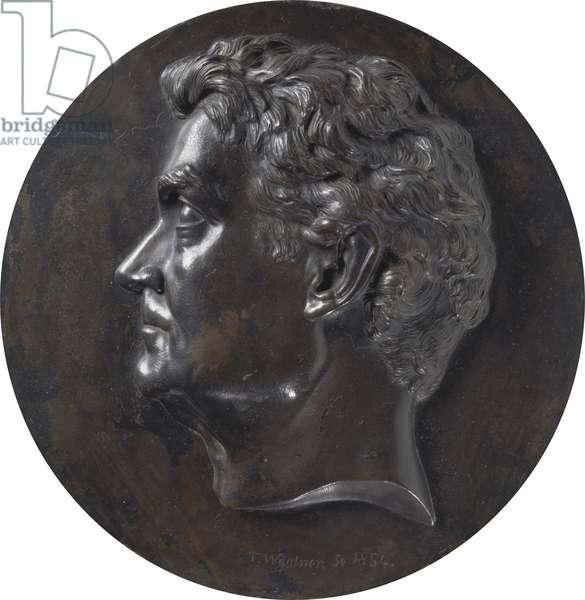 William Charles Wentworth (1790-1872) 1854 (bronze)