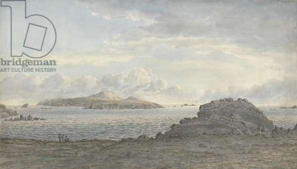 St. David's Head, Pembrokeshire, c.1805 (w/c on paper)