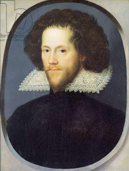 Sir William Pope (1596-1624) c.1615 (oil on panel)