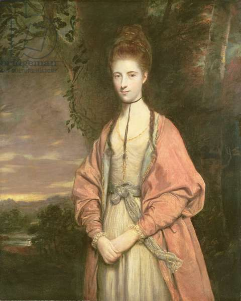 Anne Seymour Damer (1749-1828), 1773 (oil on canvas)