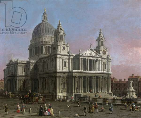 St. Paul's Cathedral, 1754 (oil on canvas)