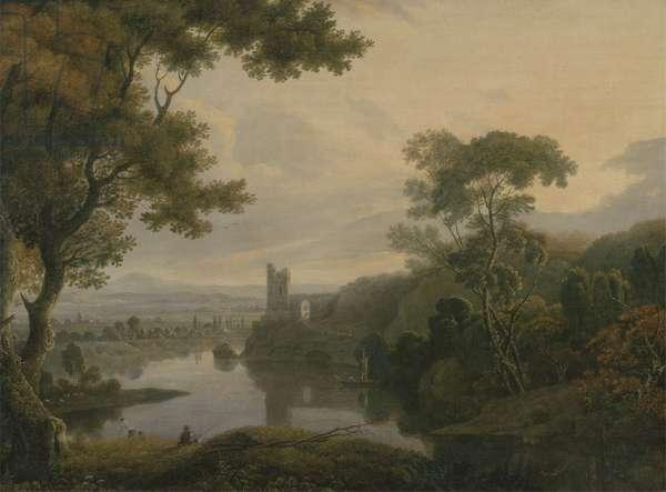 River Landscape, 1773 (oil on canvas)