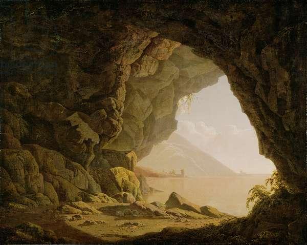 Cavern, Near Naples, 1774 (oil on canvas)