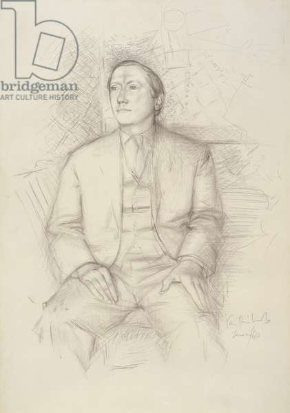 John Russell, 1960 (graphite on paper)