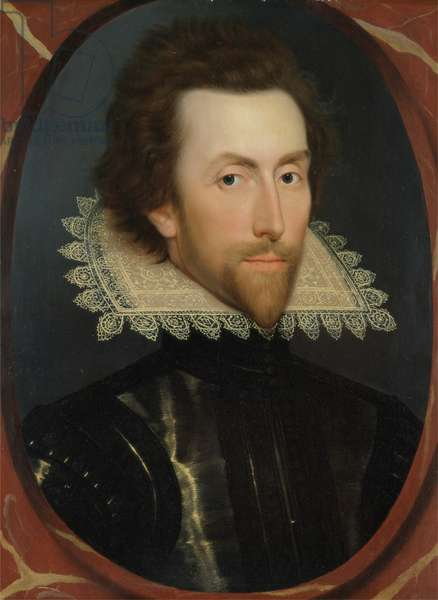 Portrait of Grey Brydges, Fifth Baron Chandos of Sudeley (c. 1581-1621) c.1615 (oil on panel)