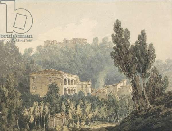 In the Valley near Vietri, c.1794 (w/c over graphite on paper)