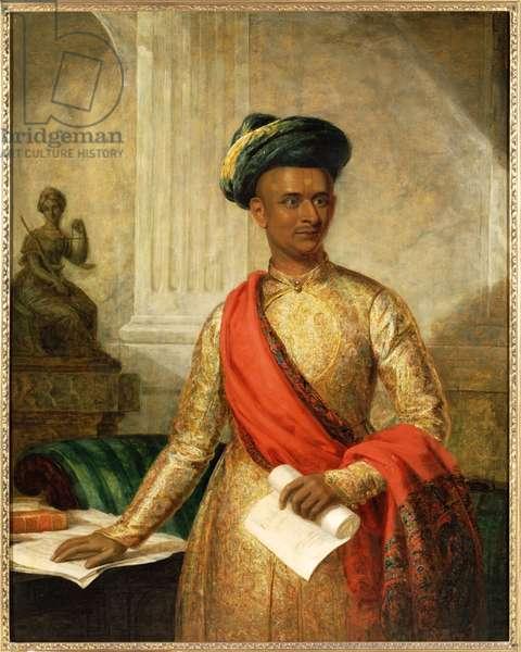 Purniya, Chief Minister of Mysore, c.1801 (oil on canvas)