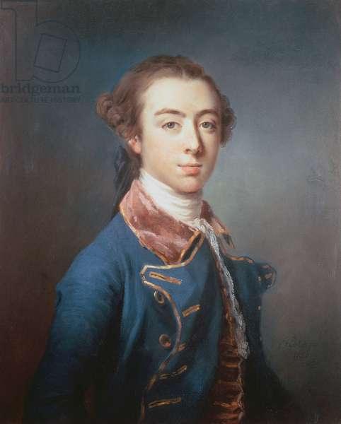 Topham Beauclerk (1739-80) (pastel on paper)