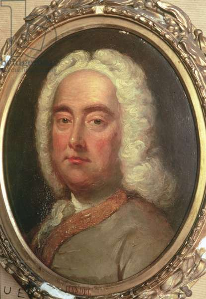Portrait of George Frederick Handel (1685-1759)