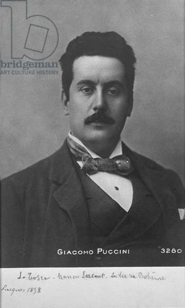 Photograph of Puccini