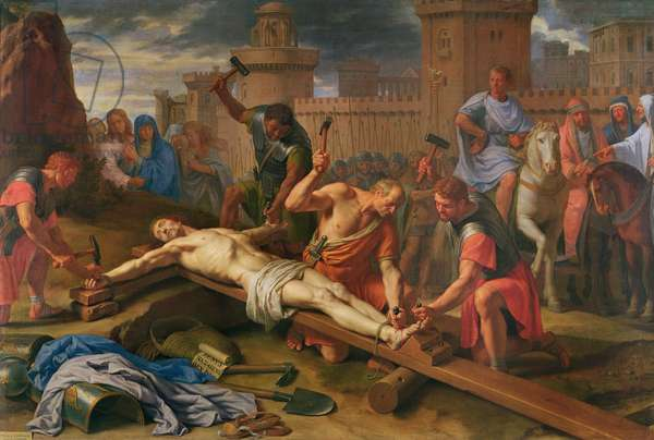 The Crucifixion (oil on canvas)