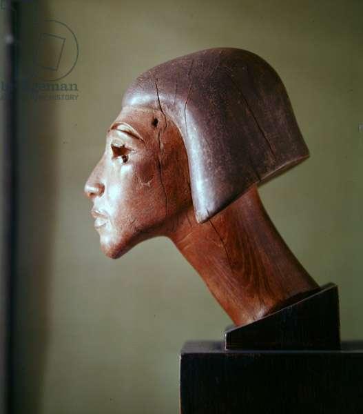 El-Amarna style head (wood)