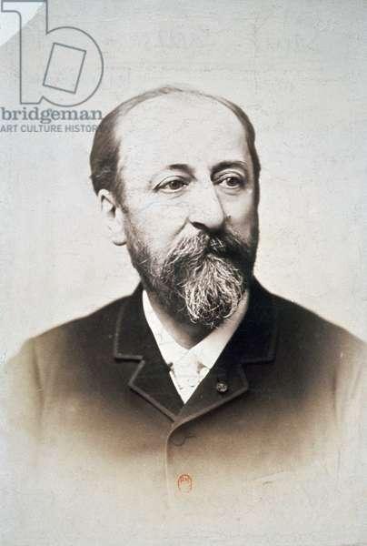 Charles Camille Saint-Saens (1835-1921) (portrait photo)