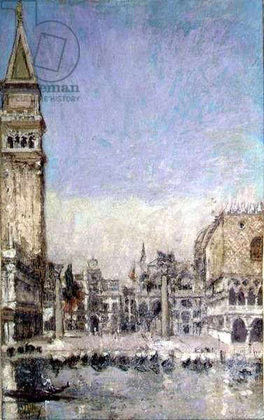 The Piazzetta, Venice, c.1901 (oil on canvas)