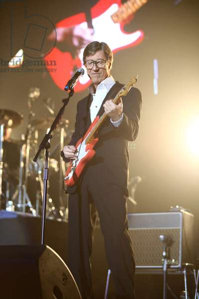 Hank Marvin and Cliff Richard