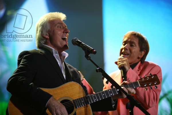 Bruce Welch and Cliff Richard